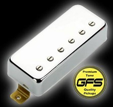 KP - Little Crunchy Mini Humbuckers - Chrome Case  - Kwikplug® Ready