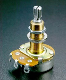 Long Shaft 500K Audio Pot for USA Les Paul