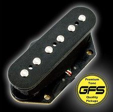 KP - Neovin HARD Vintage Noiseless Bridge Pickup for Tele Guitars  - Kwikplug® Ready