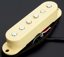 KP - Cream Neodymium Single Pickup- True Vintage Sparkle - Kwikplug® Ready