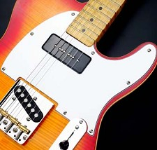 P90 Soapbar Tele neck Pickup White 3 Ply- CUSTOM MADE for us!