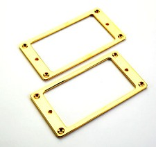 Pair Gold Plated Brass Pickup Rings