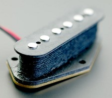 KP - Repro 1960's HOT Alnico Tele Bridge Pickup - Kwikplug® Ready