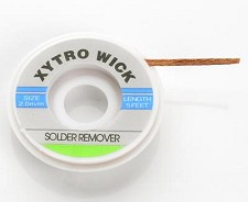 Solder Wick- Must Have for Guitar De-Soldering and cleaning parts