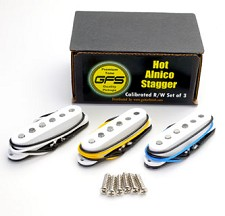 Strat Overwound Alnico Stagger Pickups