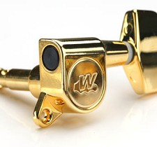Wilkinson EZ-LOK locking Tuners Gold 6 inline for Fender Headstocks