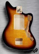 XGP Professional Offset Body Flamed Maple Top Vintage Sunburst  - Blem