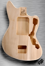 XGP Professional Offset Body Unfinished White Poplar