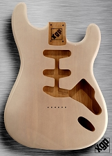 XGP Professional Strat Swamp Ash Body Mary Kaye White Hardtail!