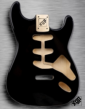XGP Professional Strat Body Black