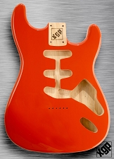 XGP Professional Strat Body Capri Orange Hardtail!