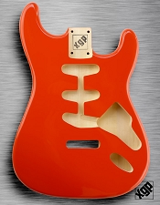 XGP Professional Strat Body Capri Orange - Blem