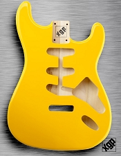 XGP Professional Strat Body Monaco Yellow