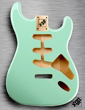XGP Professional Strat Body Surf Green - Blem