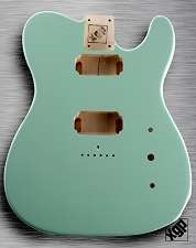 XGP Professional Tele Body 2 HumbuckersSurf Green