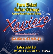 Case of 12 Sets- Xaviere Pure Nickel Strings Extra Light Gauge