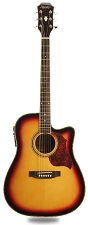 XV_130SCE - Sunburst Cutaway Acoustic-Electric, Solid Spruce Top, Mahogony back and sides