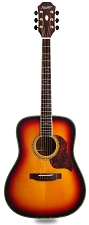 XV_580 - SUNBURST! Solid Spruce Top Solid Rosewood Back and Sides with Binding