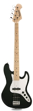 JB Bass Alder Body Maple Neck Gloss Black Maple Fingerboard