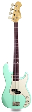 PB Bass Alder Body Maple Neck Surf Green Rosewood Fingerboard