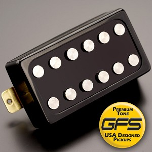 KP - Loudmouth, EXTRA POWER with vintage Tone, Black - Kwikplug® Ready