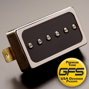 KP - GFS Dream 90 Black Bobbin with Nickel Case - Kwikplug® Ready