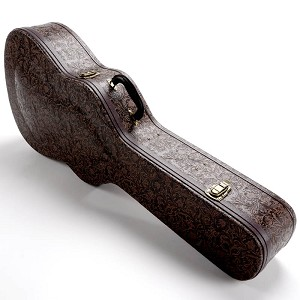 "PREMIUM ""Tooled Leather"" Hardshell Case fits Dreadnaught- OUR BEST!"
