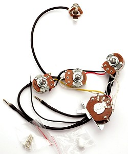 Kwikplug Strat HSS/HSH Wiring Harness- PRE-SOLDERED Drop-In