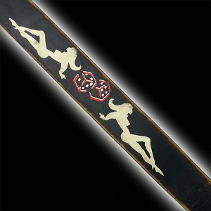 NEW! Slickstraps Mudflap Girls Handmade Leather Strap