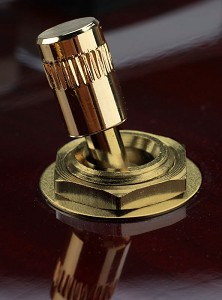 "Correct ""Rockabilly"" style Toggle Switch Tip GOLD"