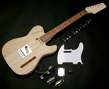 Super Lightweight Tele Style kit with Rosewood or Maple