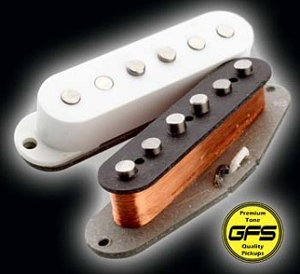KP - '64 Stagger Vintage Grey-Bottom boutique Strat - Surfy!! - Kwikplug® Ready