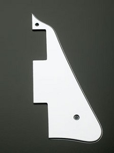 Import Les Paul Pickguard White/Black/White