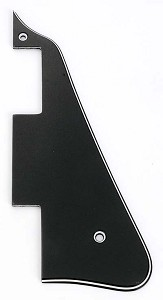Les Paul replacement Pickguard Three Ply Black