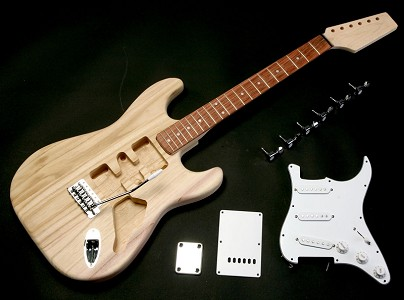 Super LIghtweight Strat Style Kit- Rosewood OR Maple!