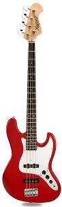 JB Bass Alder Body Maple Neck Candy Apple Red Rosewood Fingerboard