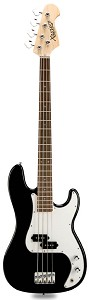PB Bass Alder Body Maple Neck Gloss Black Rosewood Fingerboard